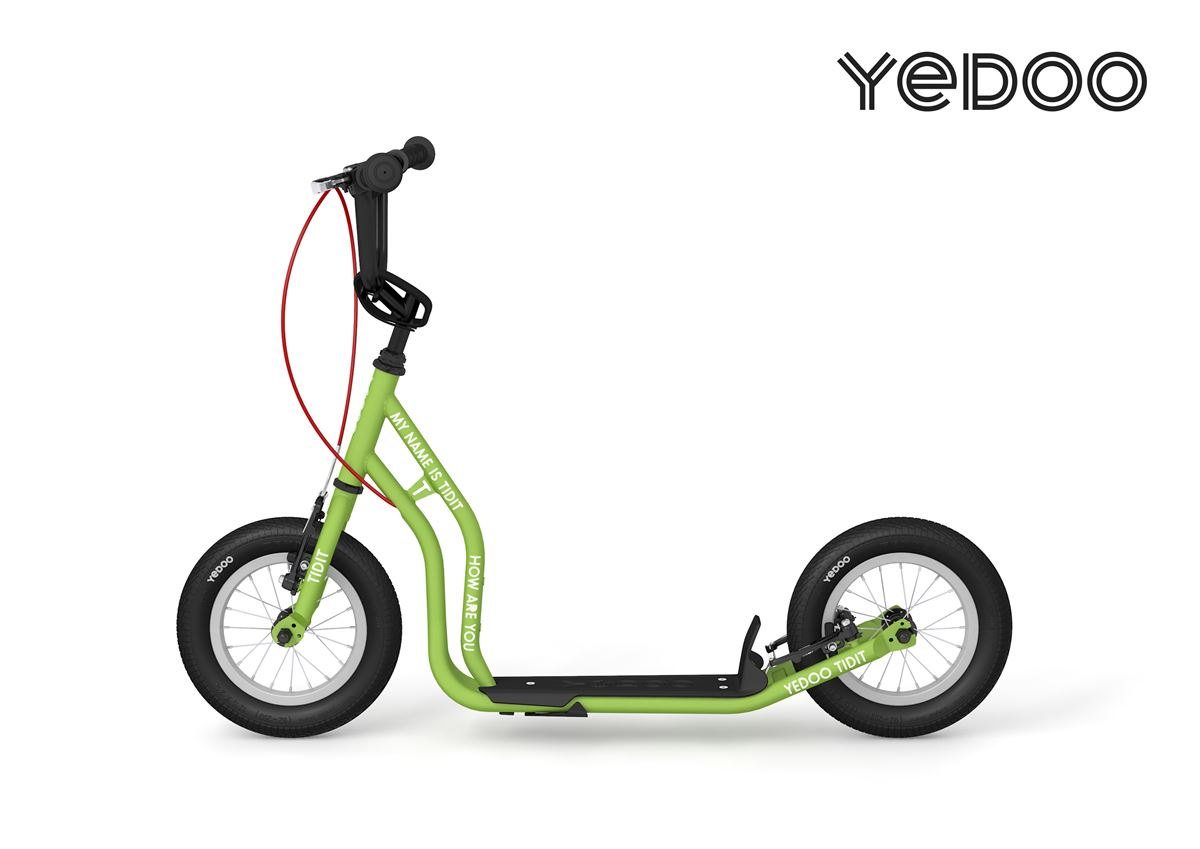 Yedoo Tidit New – a scooter for bold preschoolers (5+)