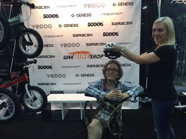 Holland MacFallister was crowned Ambassador of Yedoo Brand for the USA at Interbike Fair held in Las Vegas Sept. 22.