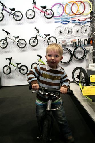 Also the kids found their pleasure at For Bikes.