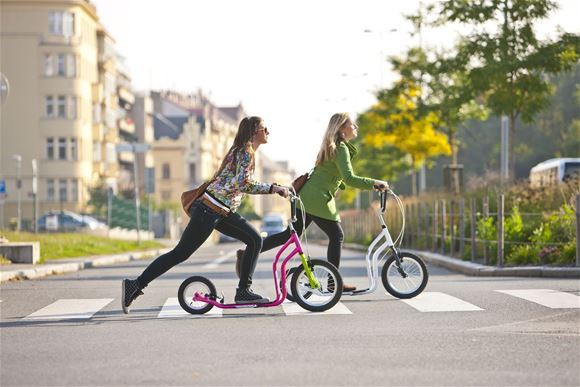 Scooters as purposeful designer accessories