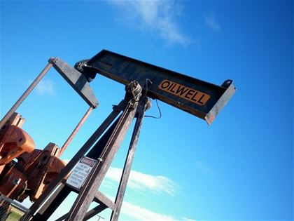 There are hundreds of pump jacks. Natural gas and crude oil supplies are all over the province of Alberta.