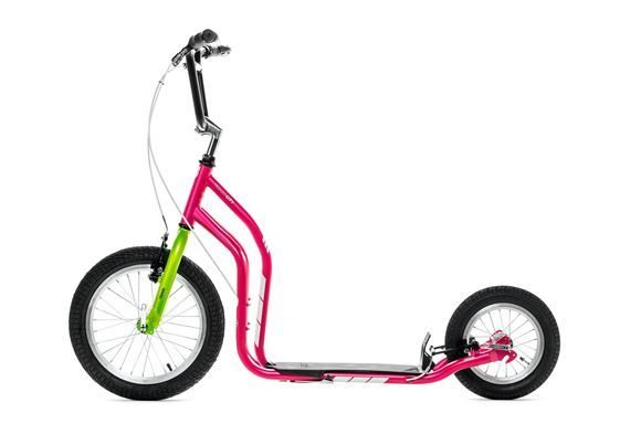 Vividlycoloured Yedoo City New scooter.
