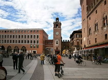 Ferrara – a town of Renaissance jewels and cycle routes.
