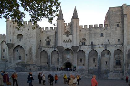 The Archbishops' Palace in Narbonne dates back to the 14th century; the adjacent Gothic cathedral which remains unfinished and the relic of the Roman series of underground hallways and tunnels Horreum used to store grain rank among the architectural jewels of Southern France.