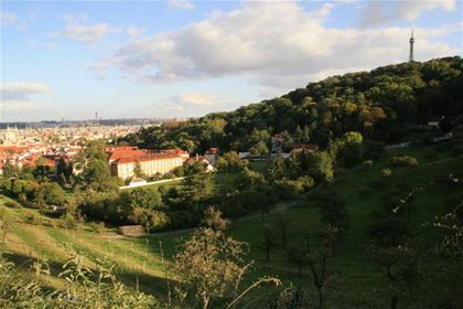 Conquer Petřín and enjoy the beautiful views of the Prague Old Town.
