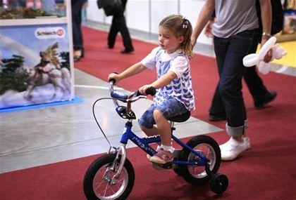 Riding should most of all be fun for the child.