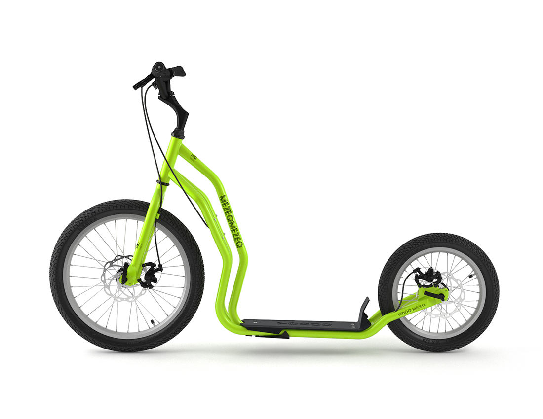 Yedoo Koloběžka YEDOO Mezeq řada RunRun   - green