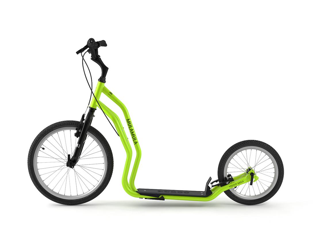 Yedoo Koloběžka YEDOO Mula řada RunRun   - green